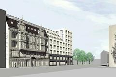 HLS-Technik Hotel Angleterre mit Verwaltungsgebaeude in Berlin
