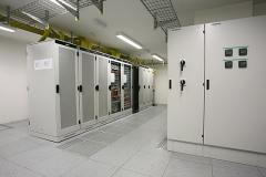 IT-Technik Telehaus Frankfurt Serverraum