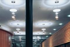 Energietechnik Haus der Wirtschaft IHK schalt und steuerbare Flurbeleuchtung