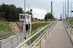 Infrastruktur Bahnhof Amstetten Behindertengerechte Rampe