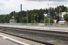 Infrastruktur Bahnhof Amstetten Neubau Aussenbahnsteig