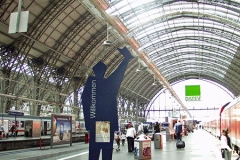 Infrastruktur Hauptbahnhof Frankfurt Main