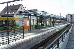 Infrastruktur Stuttgarter Strassenbahn - Strassenbahnhaltestelle-Nellingen