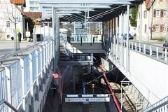 Infrastruktur Stuttgarter Strassenbahn - Strassenbahnhaltestelle-Ruit