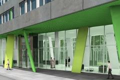 Energietechnik X-House Eingangsbereich