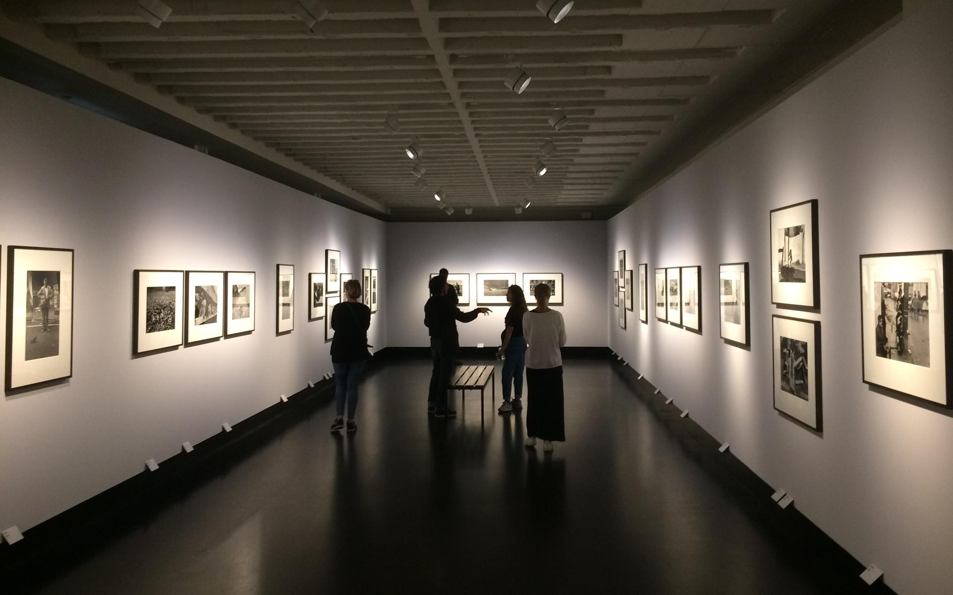 Galerie CO in Berlin während einer Ausstellung
