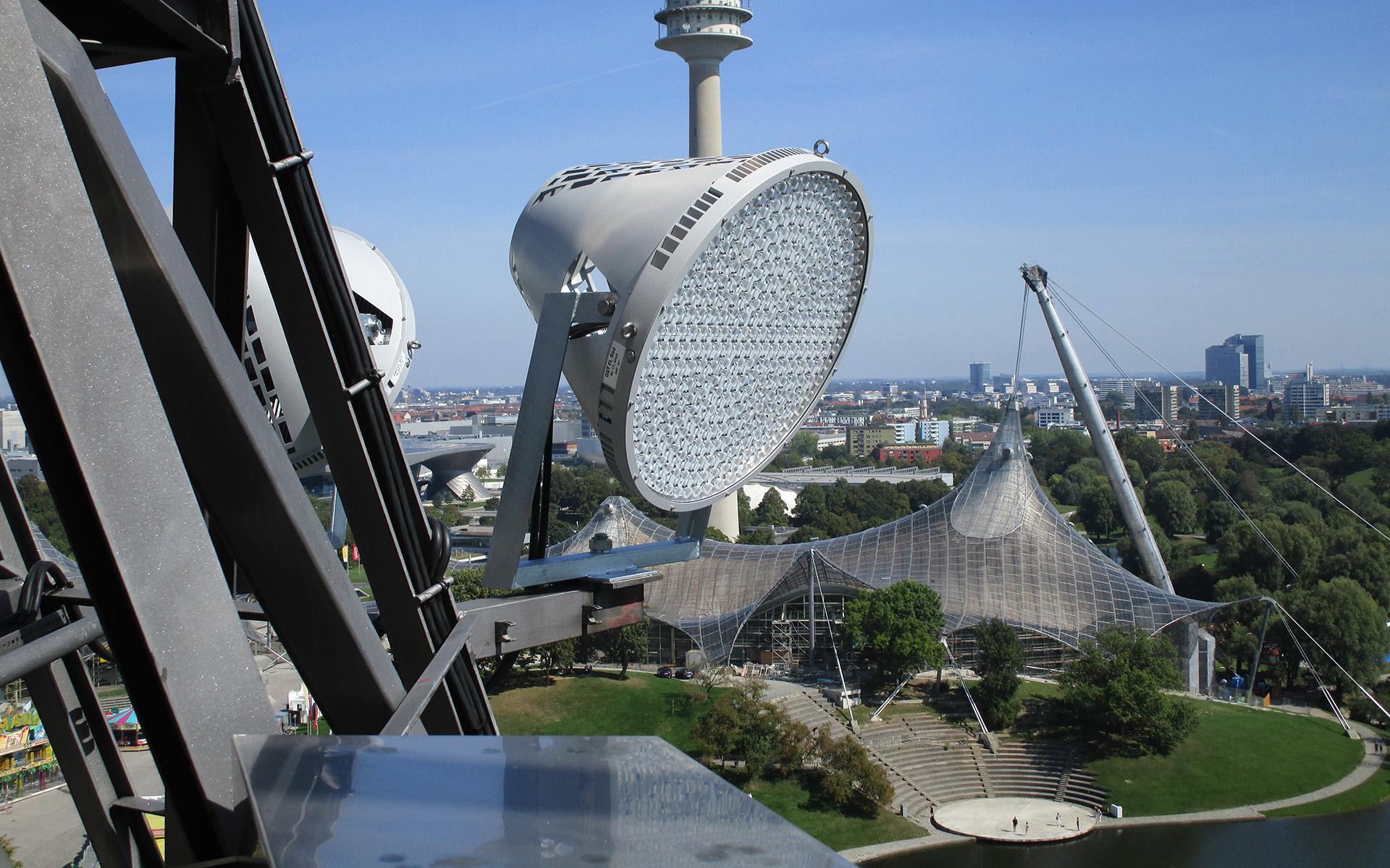 Forumbeleuchtung für den Olympiapark in München